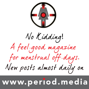 A feel-good magazine for menstrual off-days